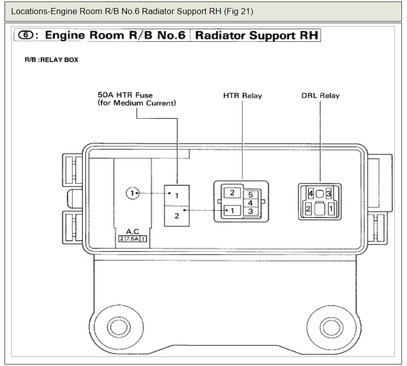 Headlight Not Working Electrical Problem 4 Cyl Two Wheel Drive Rh2carpros: 1999 Toyota Corolla Headlight Relay Location At Gmaili.net