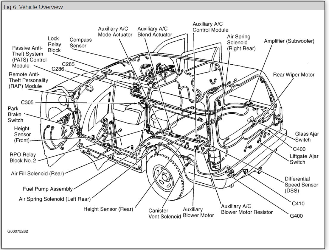 2002 lincoln navigator wiring diagram