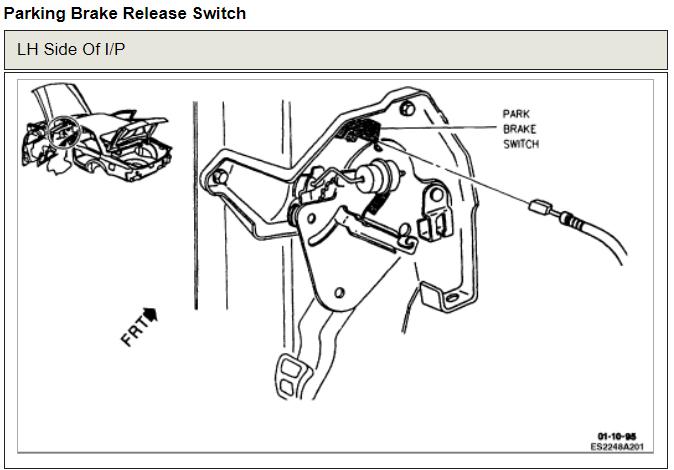 emergency brake release  brakes problem v8 front wheel