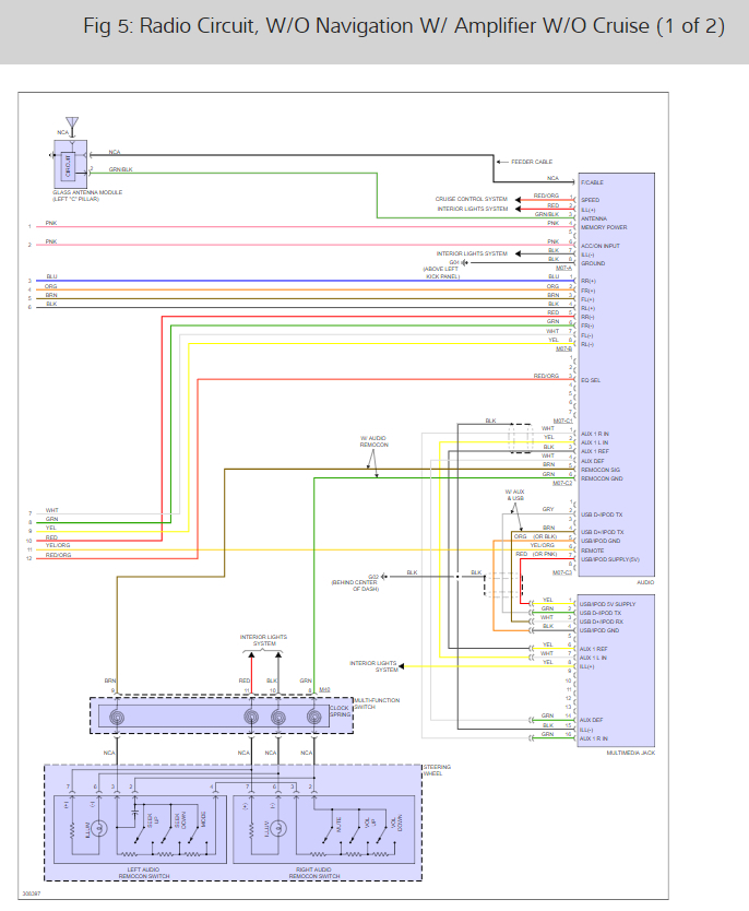 stereo wiring diagram   kia optima
