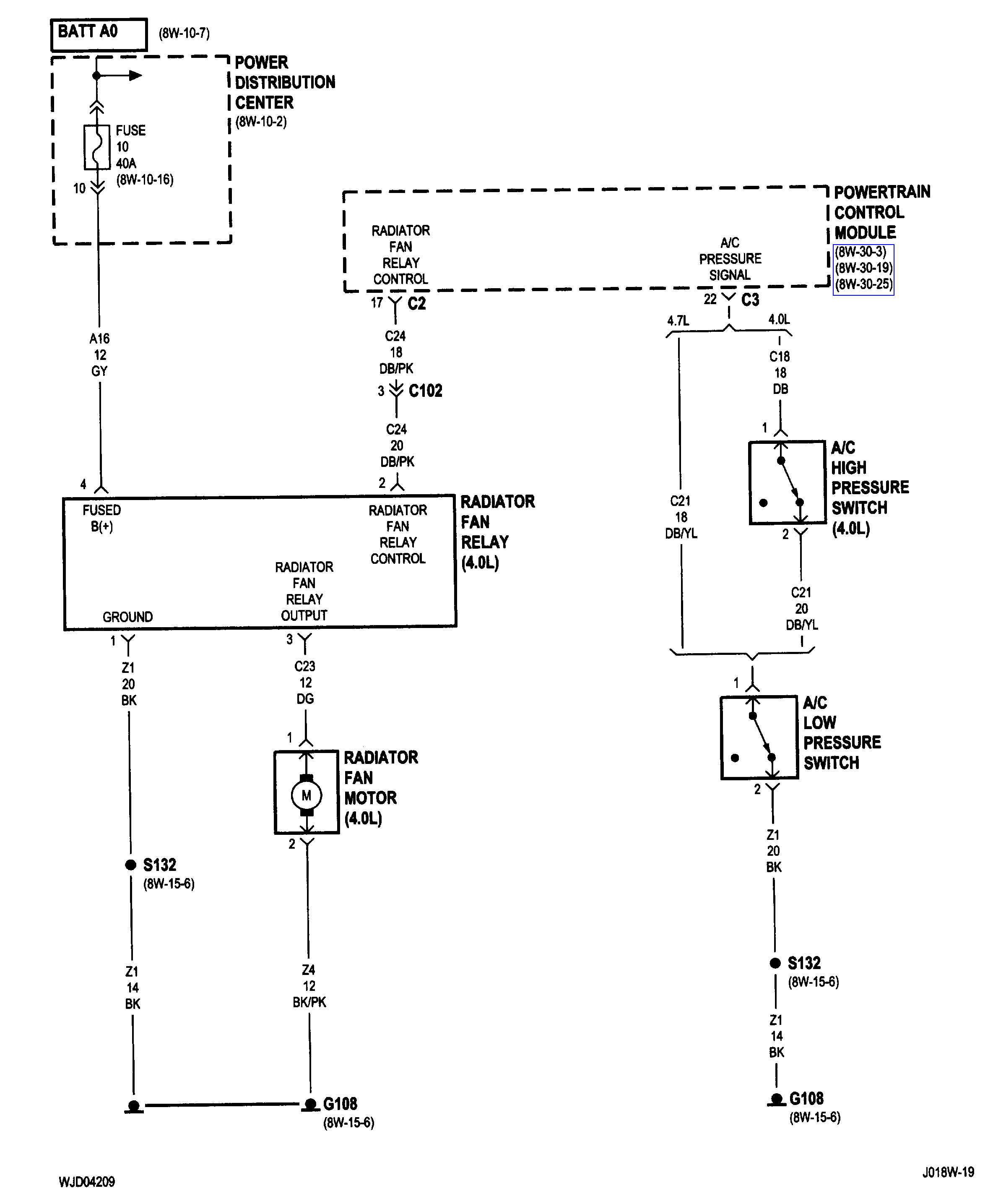 [DIAGRAM_5NL]  Electric Fan Not Working: Electric Fan Is Not Working. I Have a ... | 2004 Jeep Cherokee Blower Motor Wiring Diagram |  | 2CarPros