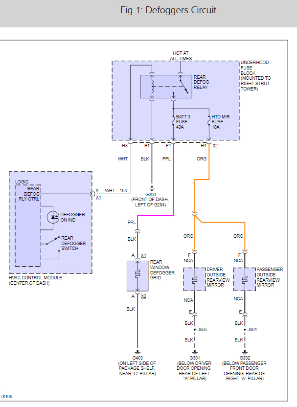 Rear Defrost Wiring Diagram Best Wiring Diagram
