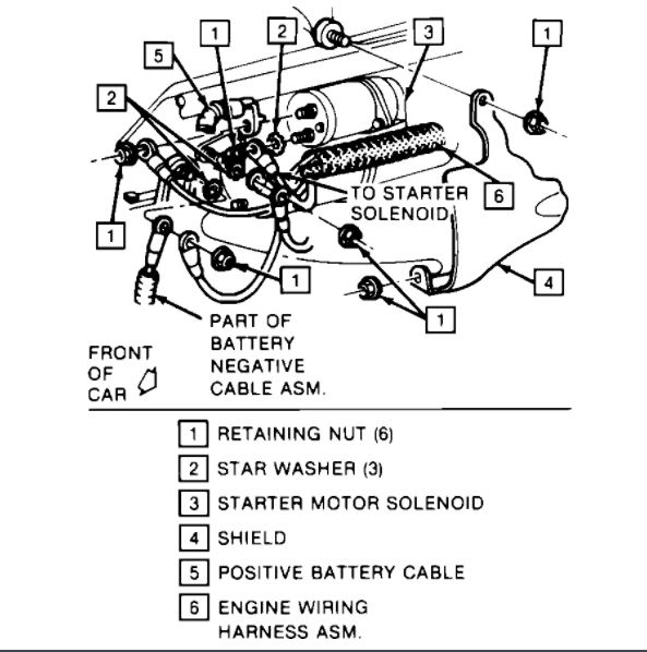 Starter Replacement Wiring Diagram Needed I Have Just Recently