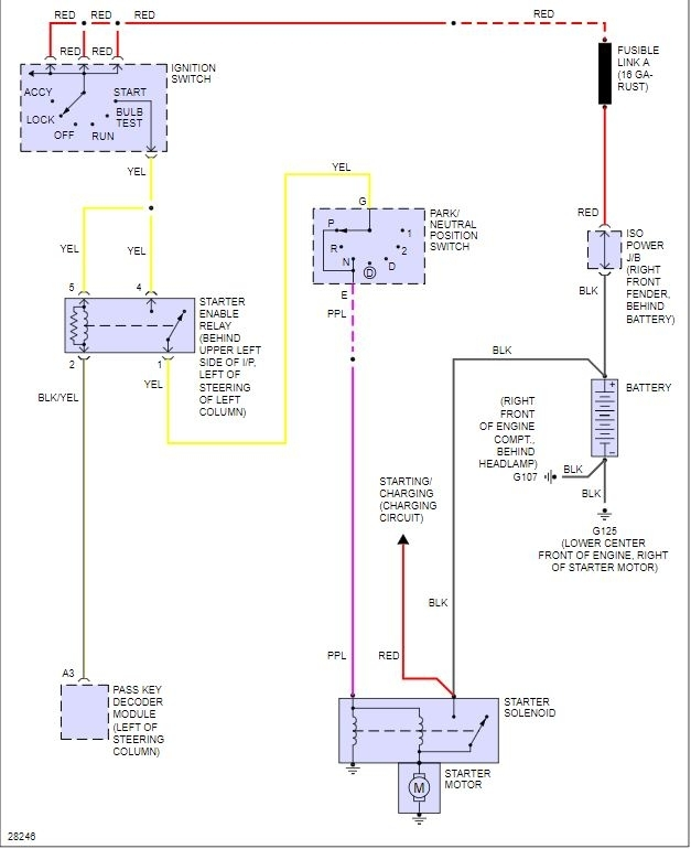 Starter Replacement Wiring Diagram Needed  I Have Just