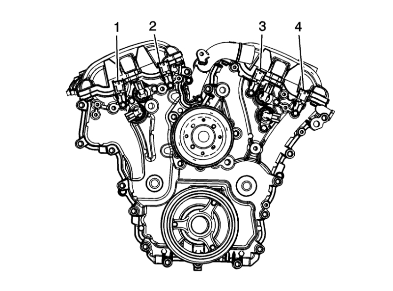 Codes P0391 With P0011 Where Is The Location Of Camshaft Sensor