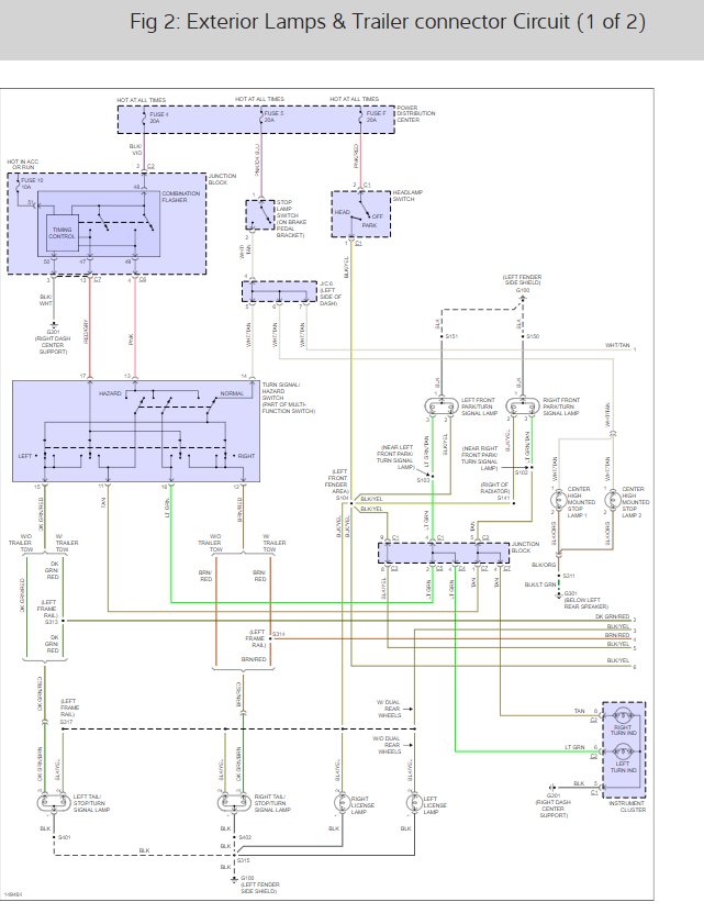 Tail Light Wiring Diagrams Please Needing To Rewire A Harness