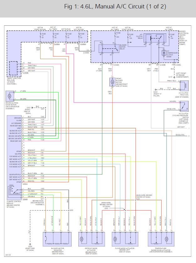 2003 ford mustang ac wiring diagram  2012 honda pilot fuse