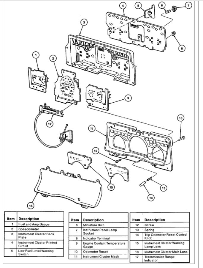 93 Crown Vic Fuse Diagram