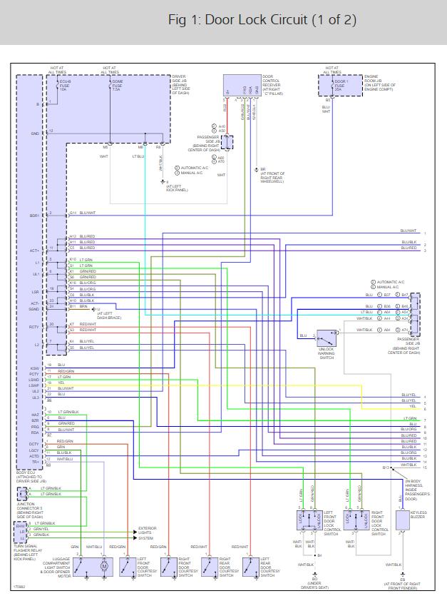 1996 camry door locks wiring diagram  wiring diagram load