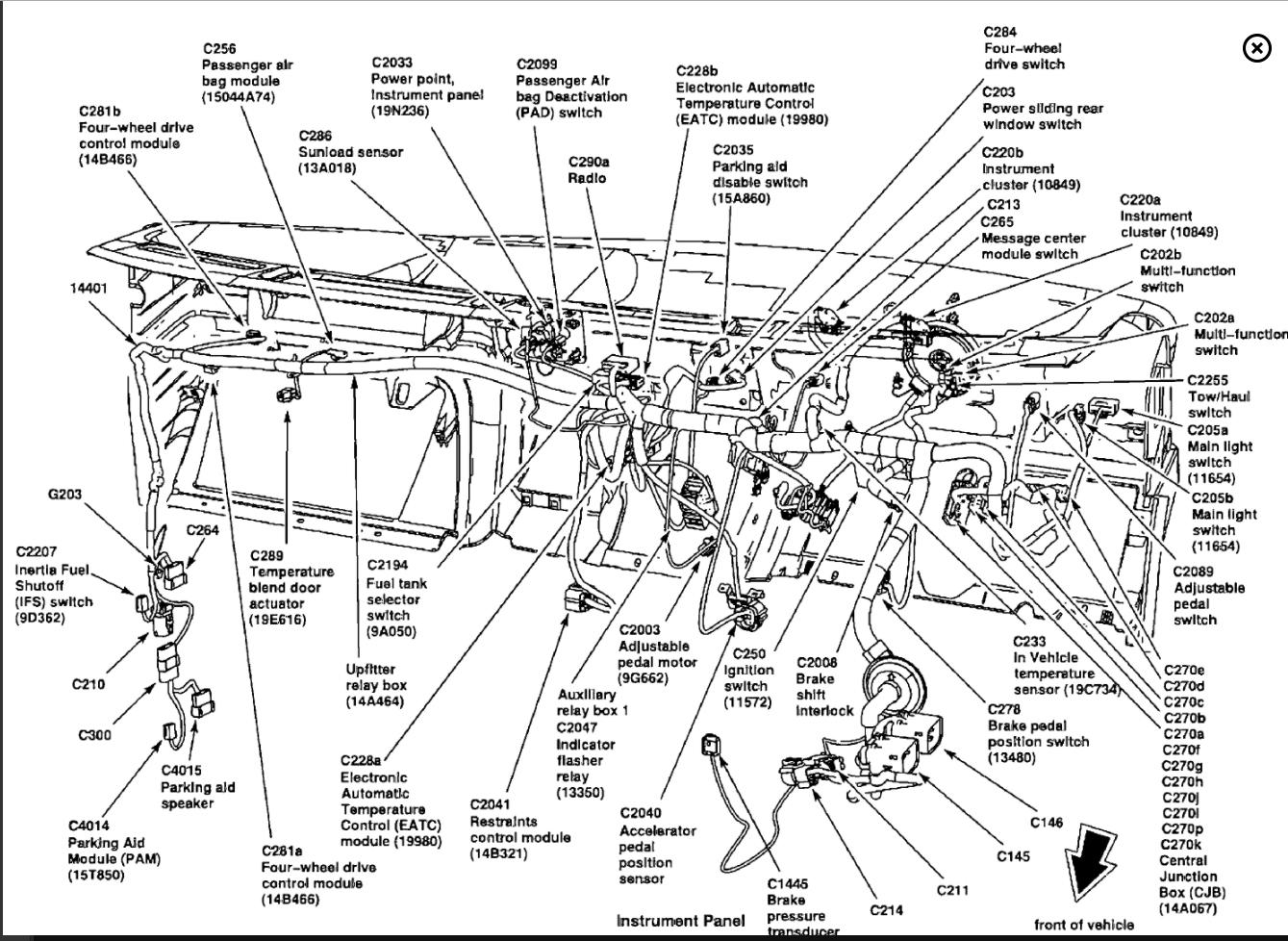 2000 ford powerstroke wiring diagram
