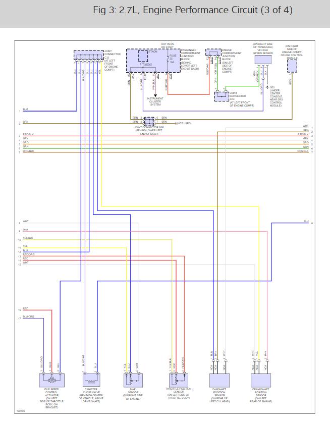 Fuel Pump Wiring Diagram  Engine Performance Problem 2004