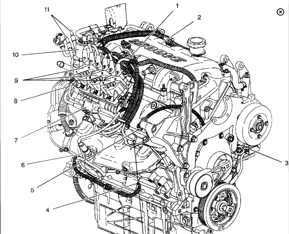 2000 Pontiac Montana Firing Order Engine Mechanical Problem 2000 2003 Pontiac  Montana Engine Diagram Pontiac Montana Motor Diagram