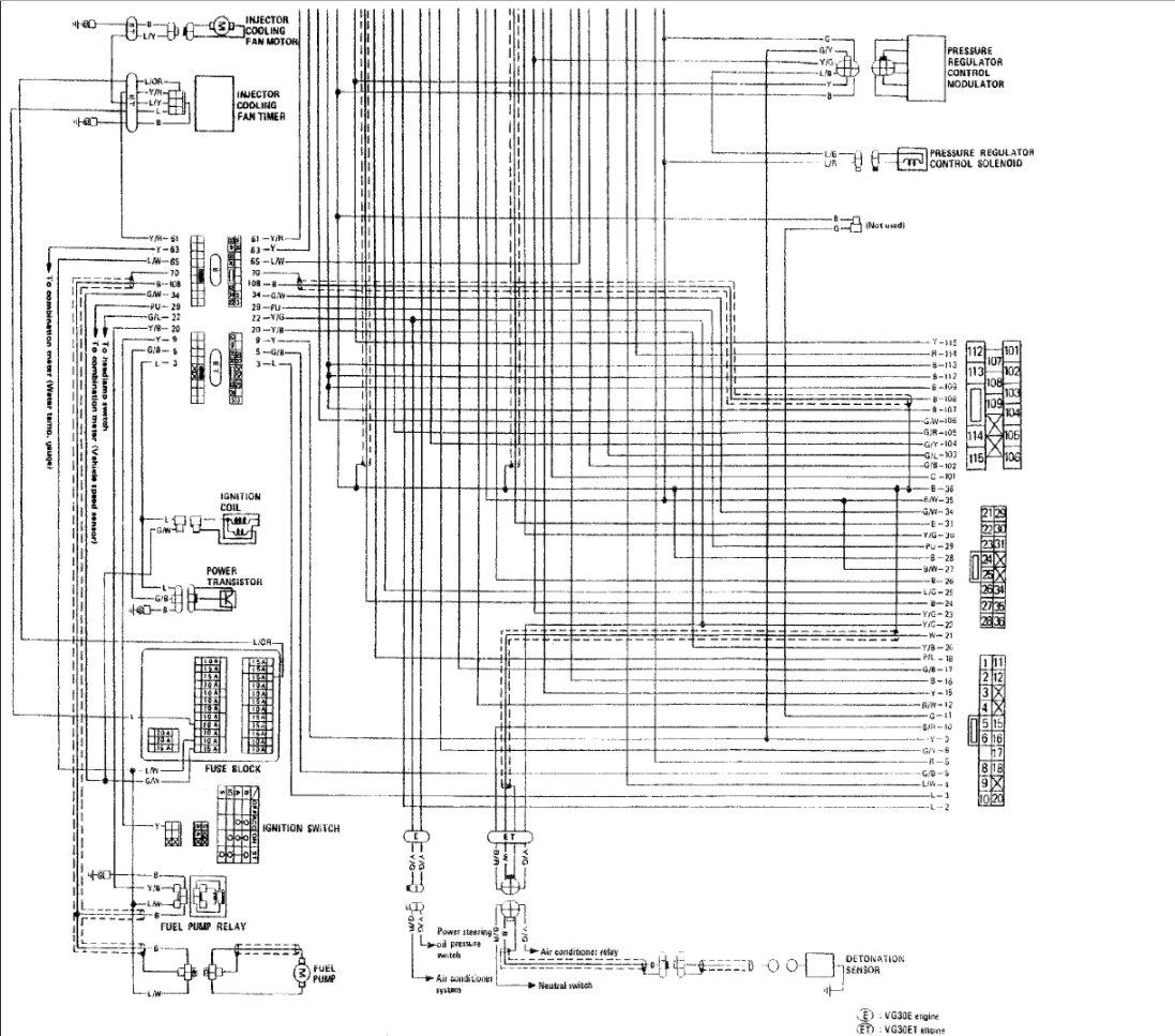 We Have A 1984 Nissan 300 Zx With No Spark New Ecu Coil 300zx Wiring Diagram Thumb