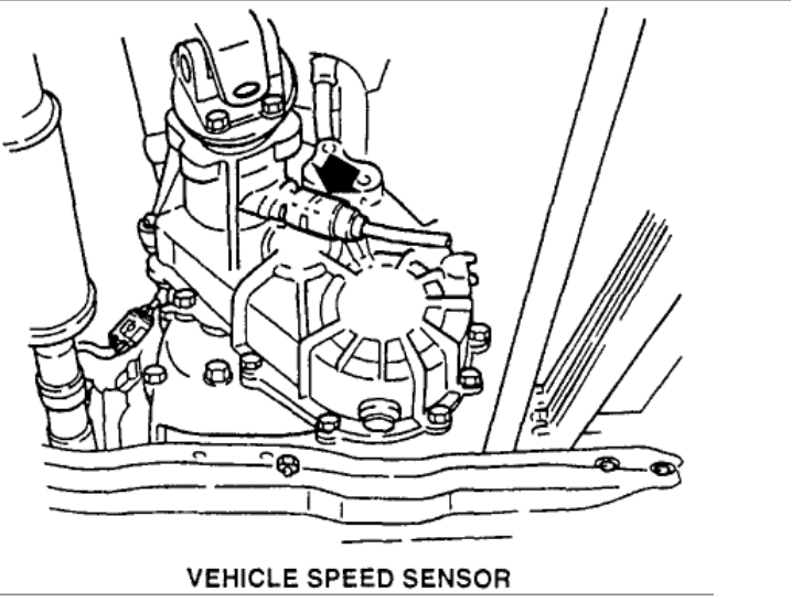 1996 isuzu trooper speed sensor location hello i have a. Black Bedroom Furniture Sets. Home Design Ideas