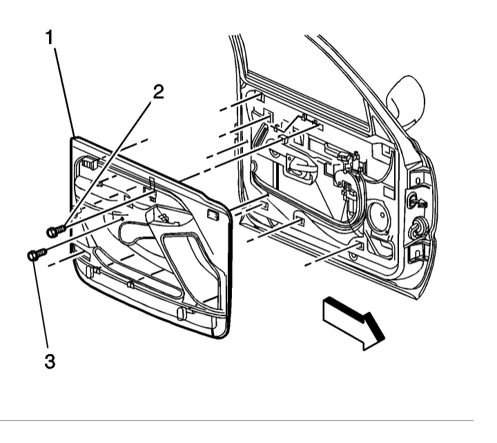 Chevy Truck Door Diagram