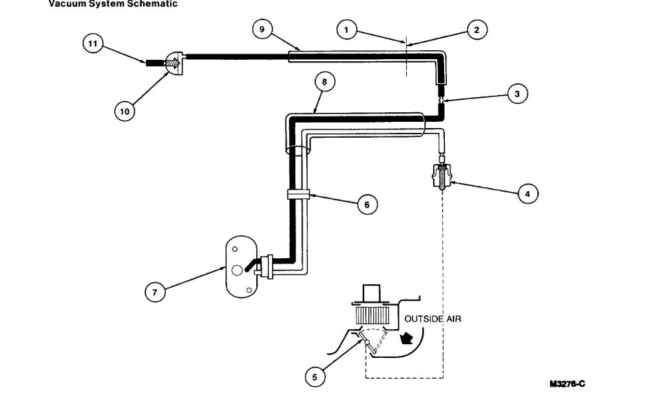 Heater Control Valve Hose Diagram  My Vehicle Blows Hot Air