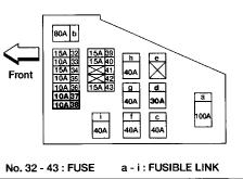 fuse box diagram needed: i just need a diagram of the fuse box.  2carpros