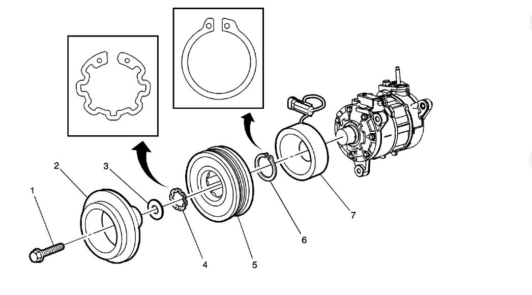 Ac Compressor Pulley Out Of Alignment