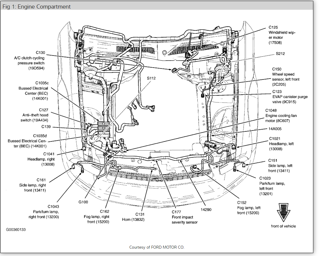 2005 Mustang Engine Diagram Data