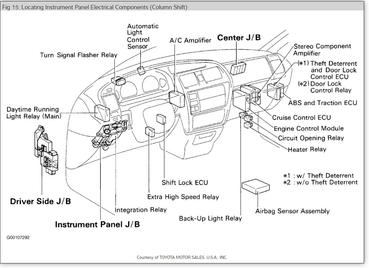 Toyota Tacoma Ac Wiring Diagram