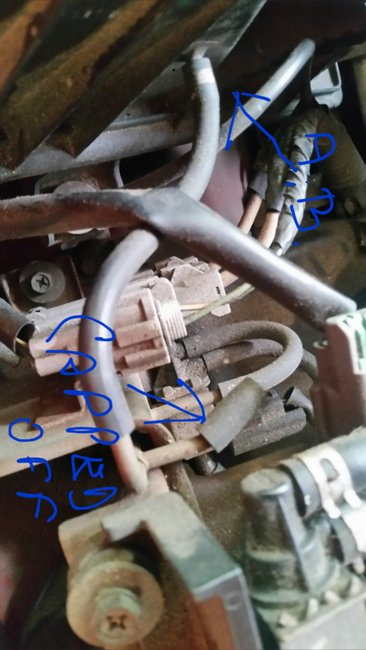 knock sensor circuit high input nissan xterra