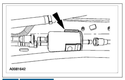 filter change: how to change fuel filter on 2003 ford ranger xlt ... 2003 ford ranger fuel system diagram  2carpros