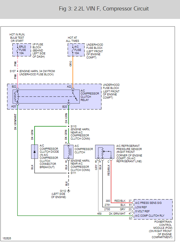on 02 cavalier c diode wiring diagram