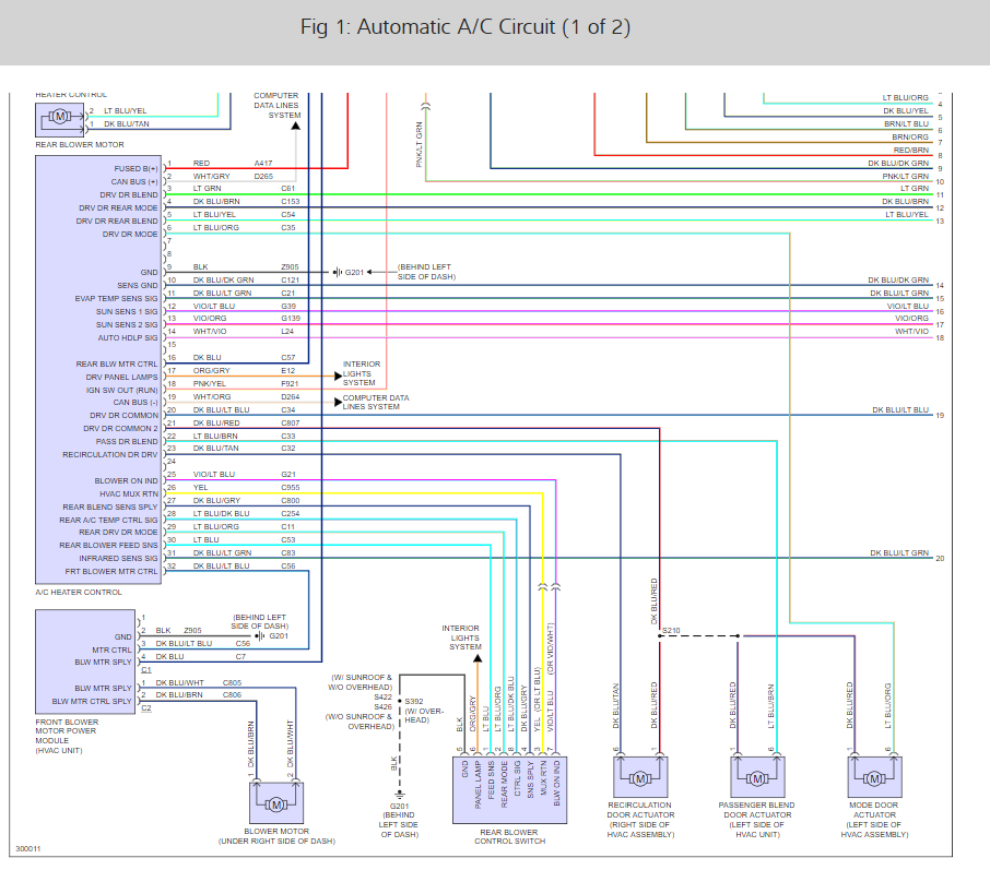 2001 grand caravan ac diagram a c compressor relay location hello  i am having a problem with  a c compressor relay location hello  i