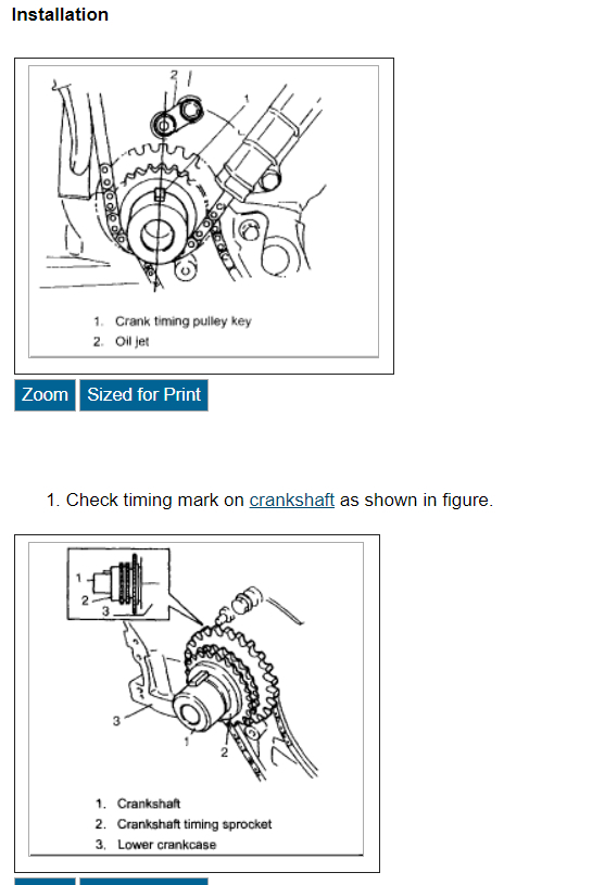 Timing Chain Diagram  Where Can I Get A Diagram For Putting A