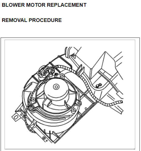Blower Motor Installation How Do I Install A Blower Motor On This