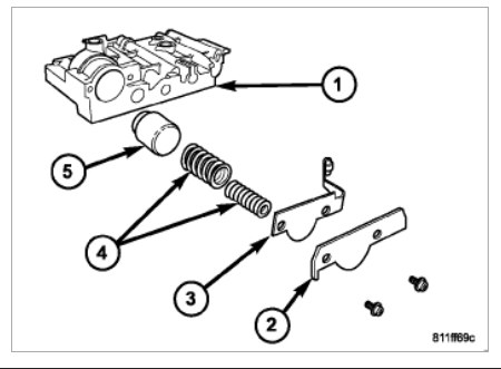 Ford Aod Transmission Parts Diagram Ford C4 Transmission Valve Body