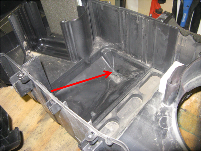 Large on Evap System On A 2005 Chevy Tahoe