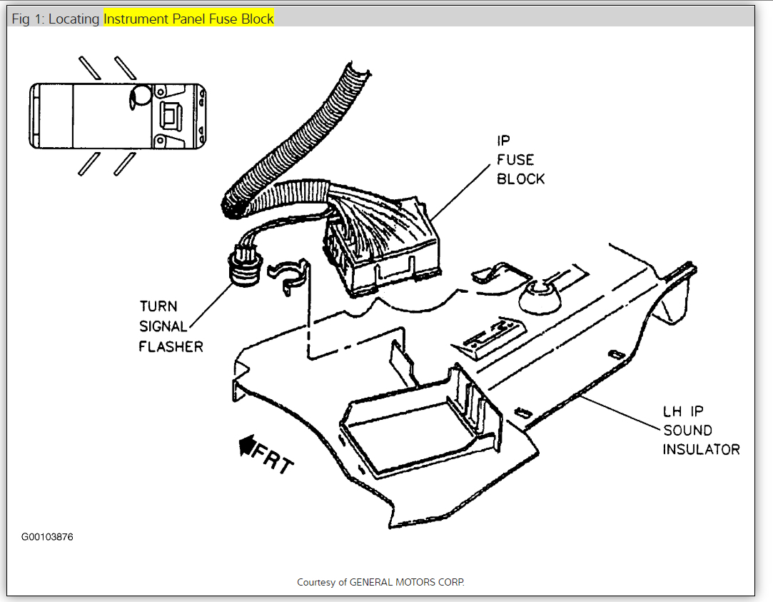 Oldsmobile Stereo Wiring Diagram