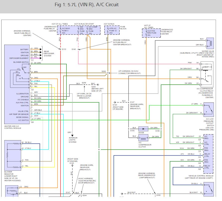 No A/C Light Compressor Not Engaging