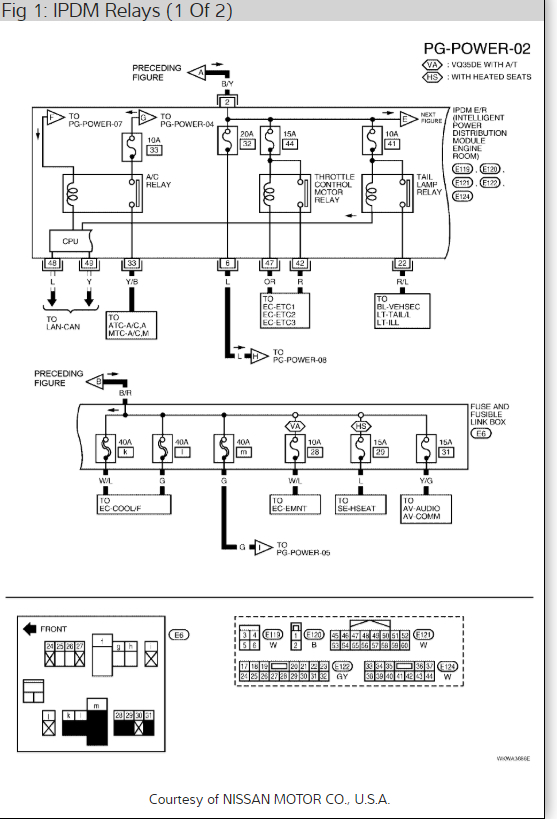 07 Altima Ac Wiring | Wiring Diagram on