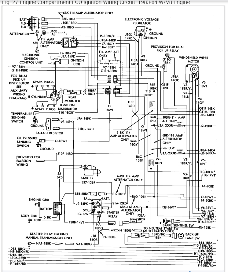 [SCHEMATICS_48ZD]  Alternator Not Charging: My Altenator Is Not Charging My Battery ... | 1984 Dodge Pickup Wiring Diagram |  | 2CarPros