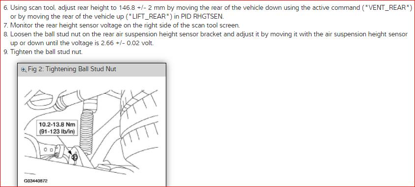 Active Suspension Relay or Suspension Control Module