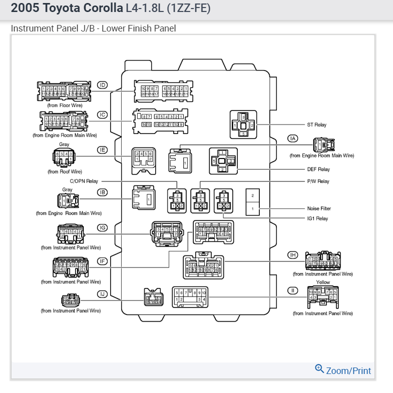 2005 toyota corolla engine diagram distributor less wiring diagram rh friendsoffido co