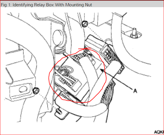 Rear Blower Motor Relay Location I Have No Power To Rear Blower