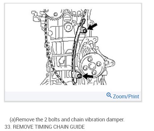 2az fe balance shaft timing marks