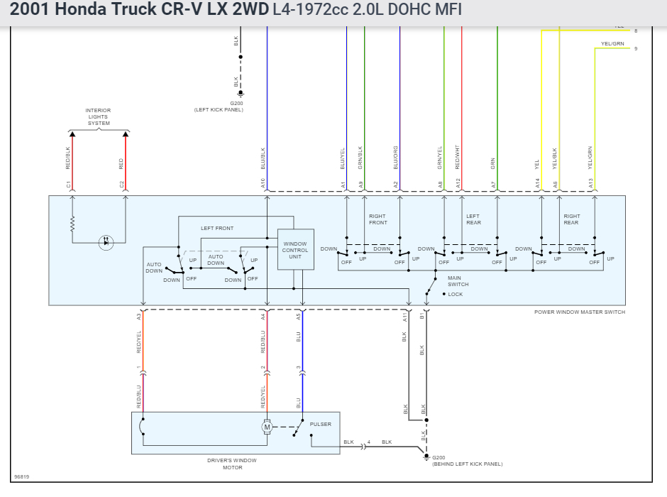 2004 Honda Cr V Wiring Diagram