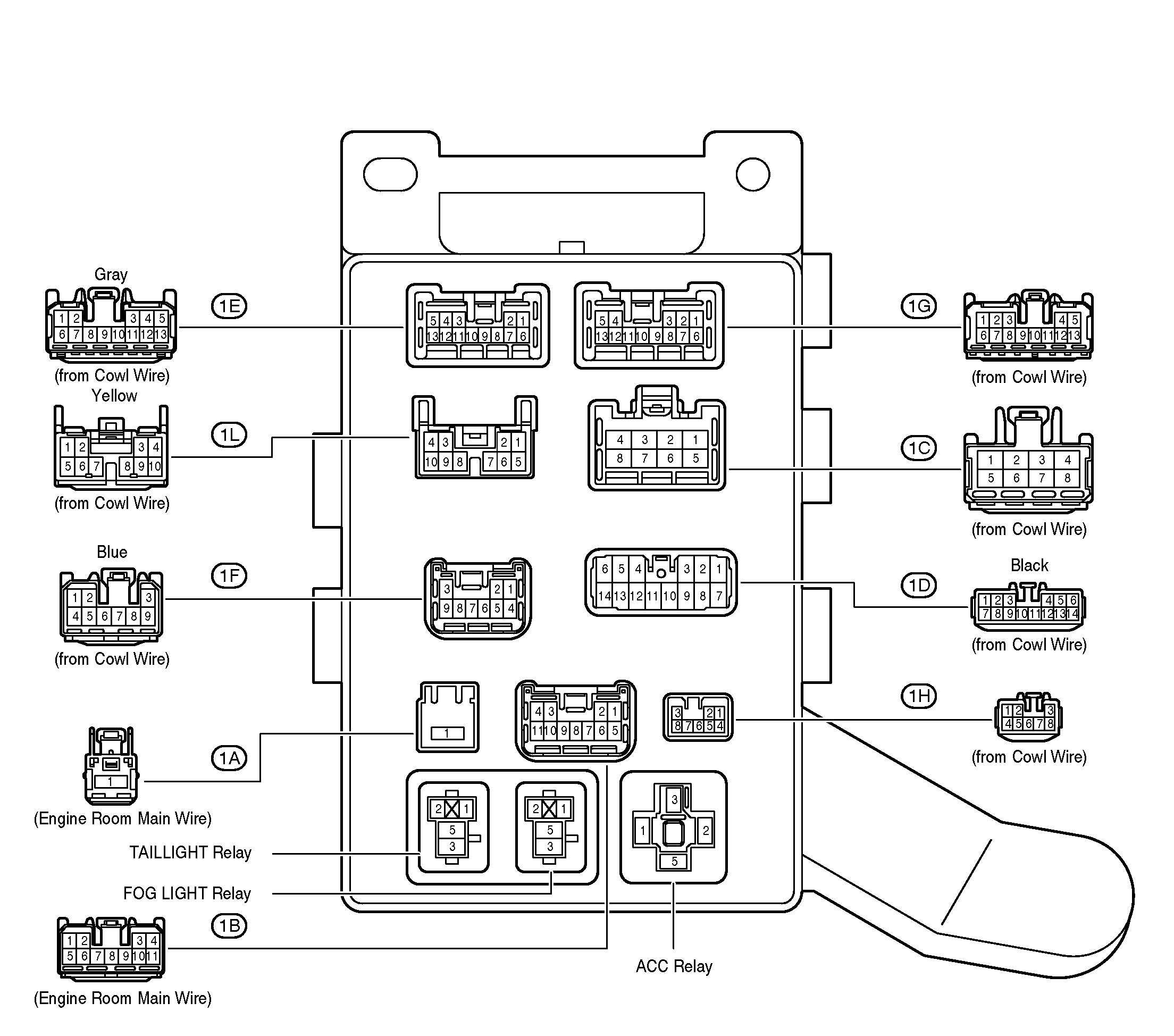 Relay Wiring Diagram As Well Fog Light Relay Wiring Diagram On Wiring