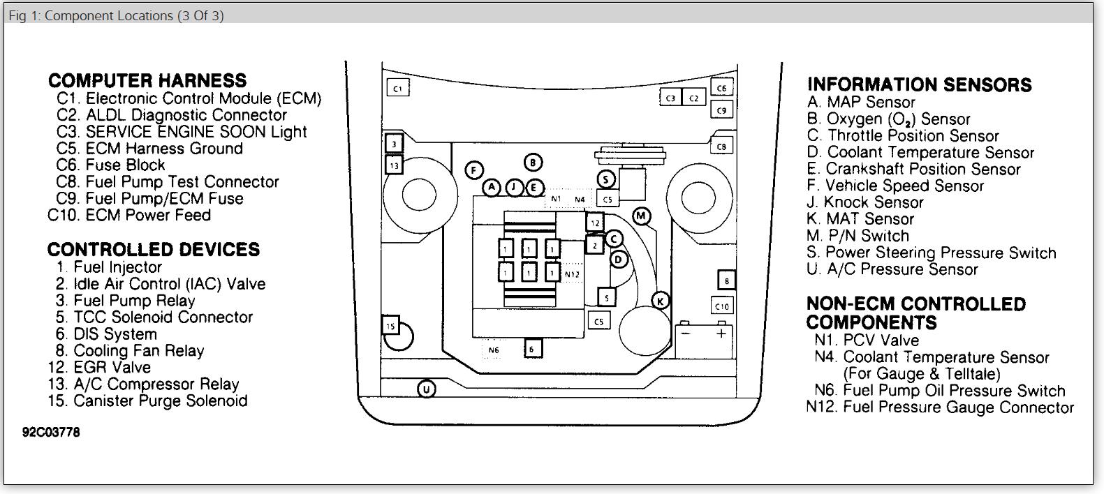 32 2000 Chevy Cavalier Radiator Diagram