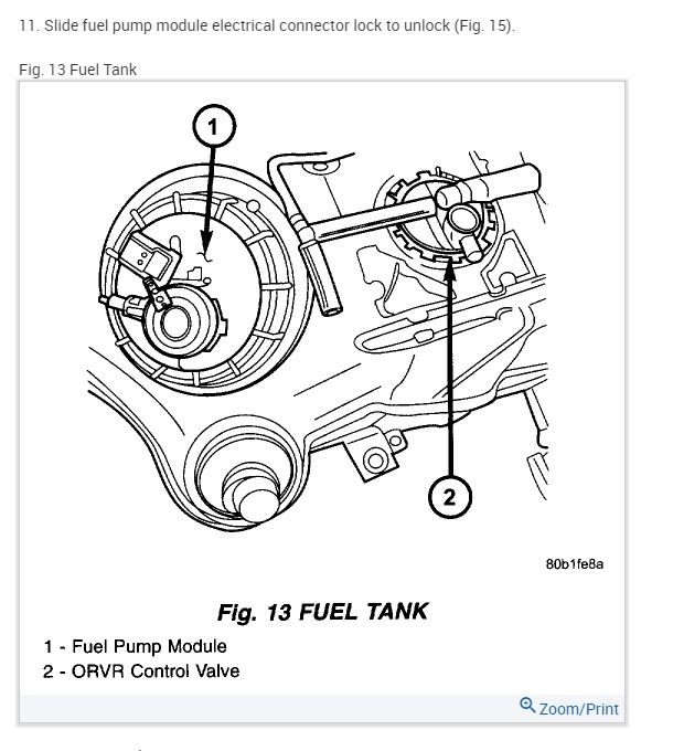 location of 2004 dodge stratus fuel filter