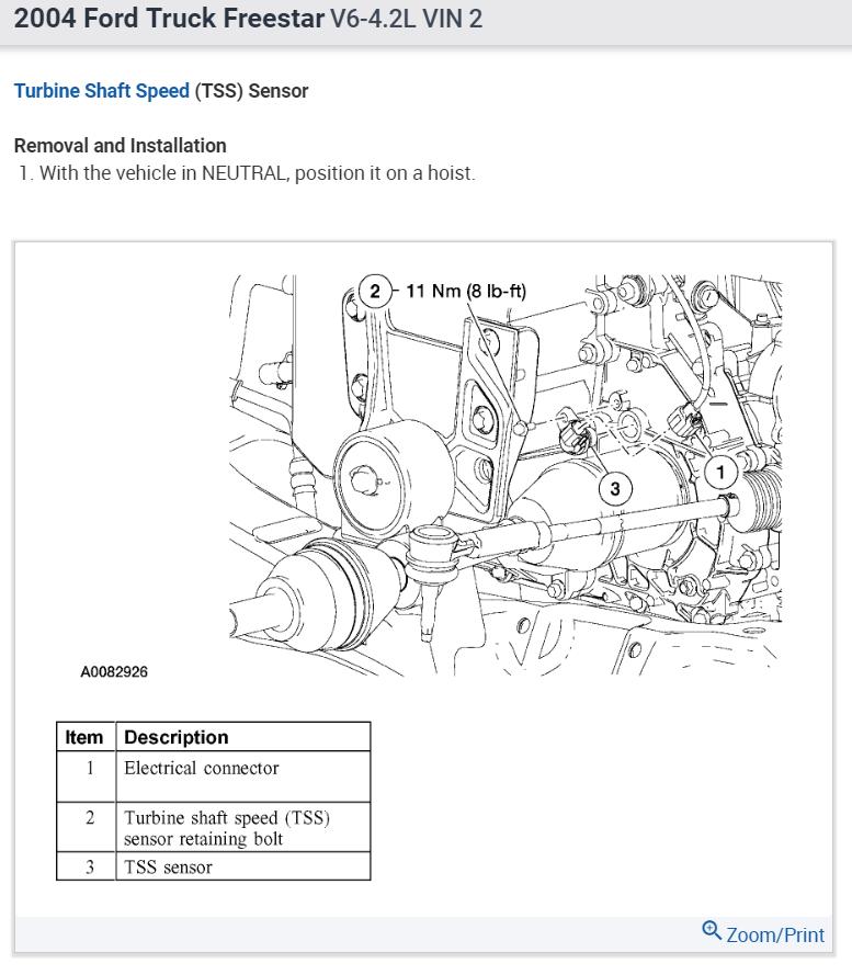 2004 Ford Freestar 4 2 Engine Diagram
