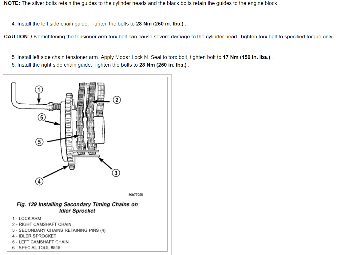Setting Engine Timing I Had To Have Both Heads Sent Out For Valve 2007 Jeep Liberty Diagram Thumb