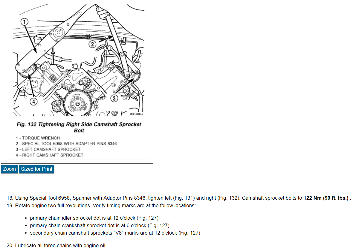 Setting Engine Timing I Had To Have Both Heads Sent Out For Valve 2005 Jeep Liberty 3 7 Diagram Thumb