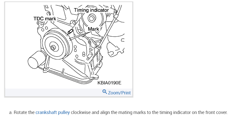 2 5 engine timing chain marks  hello 2carpros  i am wondering