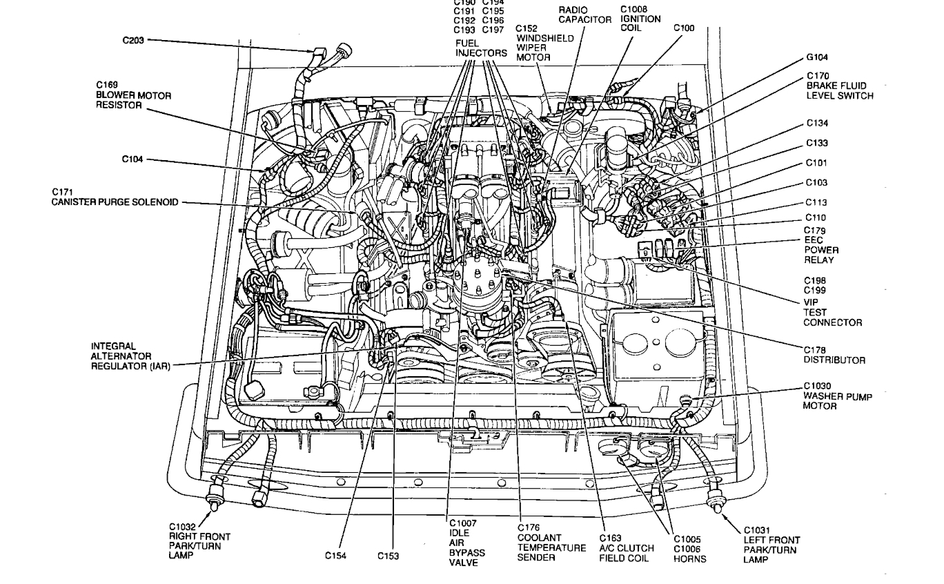 Ford E 350 Ignition Wire Diagram