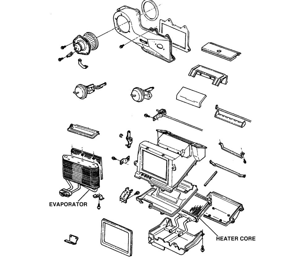 2002 Chevy Cavalier Dash Parts